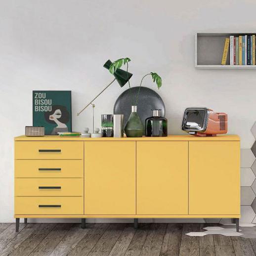 madia aquila giallo zafferano