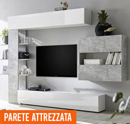 Stunning Pareti Attrezzate Soggiorno Moderne Gallery - Design Trends ...