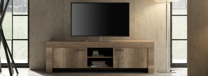 porta tv shabby