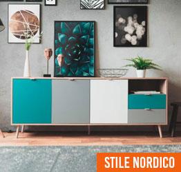 soggiorno stile nordico