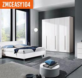 Camera da letto Completa bianco frassinato ELEONORA
