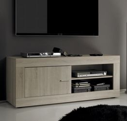"Porta TV ""Sable"" Moderno di Design, Rovere Samoa"
